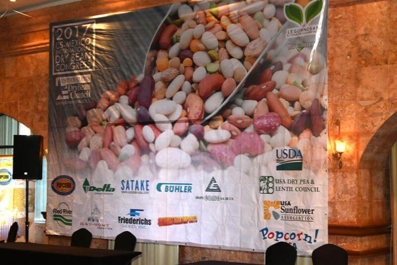 The MAP program funds critical export development initiatives in key markets such as the Mexico Bean Congress, pictured here.